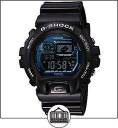 Casio G-Shock - relojes inteligentes (Resina, Alrededor, Litio, Negro, Azul, Resina, Negro) de  ✿ Relojes para hombre - (Gama media/alta) ✿