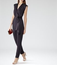 Gorgeous. Petite sizes please! Jumpsuits are so difficult to get altered