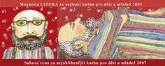 Arnošt Goldflam – Tatínek není kzahození a Tatínek 002 (recenzia) Painting, Painting Art, Paintings, Painted Canvas, Drawings