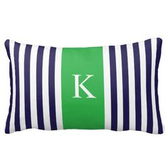 Navy Apple Green Stripes Monogram Throw Pillows today price drop and special promotion. Get The best buyDeals          Navy Apple Green Stripes Monogram Throw Pillows Review on the This website by click the button below...