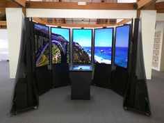 """Google """"Holodeck"""" where you can see and fly through a giant version of Google Earth & Google Street View"""