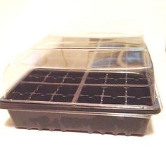 5  SEED STARTING KITS GROWING KITS  3pc KIT WITH FLAT, CELL TRAY & HUMIDITY DOME
