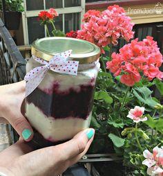 fromJuci: Erdei gyümölcsös túrós pohárkrém