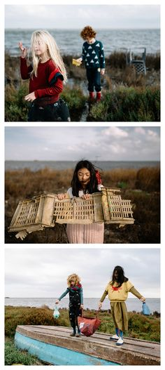 Dear World - a collection about the sea, recycling and taking care the environment
