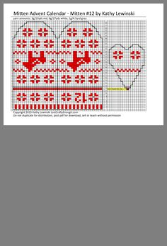 Fair Isle Knitting, Knit Mittens, Advent, Gloves, Teaching, Ideas, Breien, Learning, Education