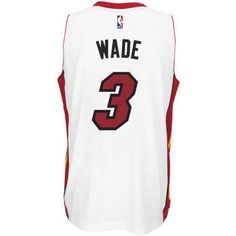 7821b345679 Miami Heat Dwyane Wade Adidas NBA Swingman Jersey