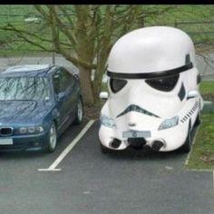 Storm Trooper Transport! #cars #starwars
