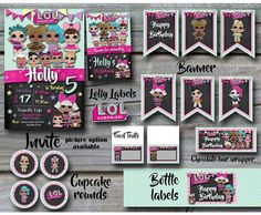 Lol Surprise Birthday Party Pack Etsy