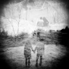 Holga Triple Exposure | Hauntingly beautiful engagement session by http://myleskatherine.com