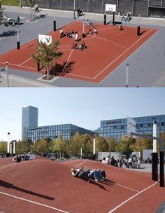 People taking place of a basketball court just to waste it, should be persecuted.
