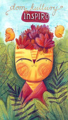 Hermosa ilustración de Monika Filipina (Polonia)
