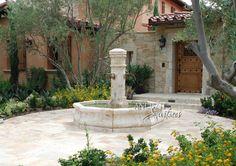 Garden fountains - mediterranean - outdoor fountains - new york - Ancient Surfaces