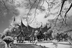 Photograph Padang Indonesian Traditional House PDIKM Padang Panjang by Hartono Hosea on 500px