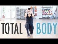 Rutina para trabajar todo el cuerpo. Total body