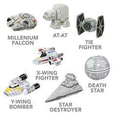 SD Star Wars Plush Vehicles