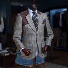 Prince of Wales sports coat. FIT FOR EVERY GENTLEMAN  #FrankBespoke #tailoredsuits #bespokesuits#tailoredsuit#suits#suitstyle… Wedding Book, Wedding Make Up, Wedding Gowns, Wedding Day, Wedding Trends, Wedding Tips, Wedding Styles, Wedding Photos, Bespoke Suit