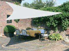 protection solaire avec un voile dombrage pour la terrasse extrieur - Voilage Exterieur Pour Terrasse