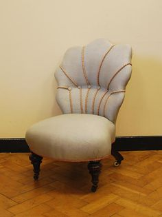 A Victorian shell-back nursing chair & Victorian mahogany framed nursing chair c. 1870. | Furniture ...