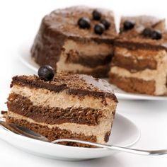 Шоколадный торт «Мальтизерс»