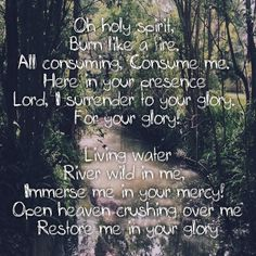OPEN HEAVEN/RIVER WILD by HILLSONG WORSHIP I took this photo today when I was walking around my suburb and these words came to my head after hearing them at Hillsong Conference and a recent hillsong service. I pray this prayer tonight :) #hillsong #openheaven #riverwild
