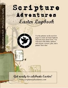 FREE Easter Lapbook!  #Easter #homeschool #education