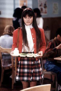 """THEN: Danica McKellar (Gwendolyn """"Winnie"""" Cooper)"""
