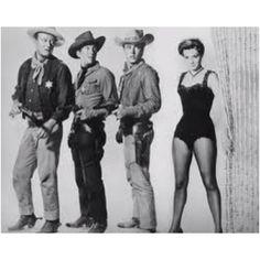 Rio Bravo with John Wayne,, Dean Martin, Ricky Nelson, And Angie Dickinson.
