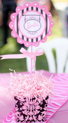 """Photo 1 of 19: Barbie in Paris / Birthday """" Isabelles 8 th birthday party Barbie in Paris """" 