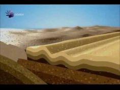 Formación de las montañas Rocosas de América, 1a. parte