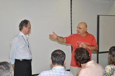 Pai de caloura faz homenagem ao vice-diretor  da FMB, prof. Peraçoli.