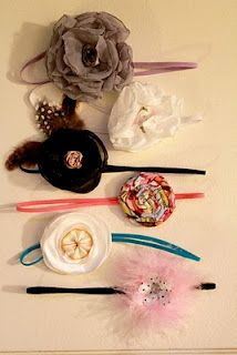 More DIY baby girl headbands Baby Headband Tutorial 61f21e2b24f4