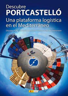 """Catalogo comercial del """"Puerto de Castellón"""" realizado para la autoridad portuaria de Castellón"""