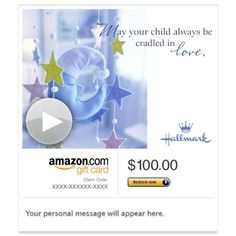 Amazon eGift Card - May Your Child Be Blessed (Animated) [Hallmark] - http://our-shopping-store.com/gift-cards-products.asp