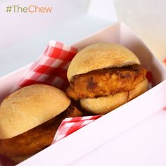 Carla Hall's Sweet Chicken Minis! #TheChew
