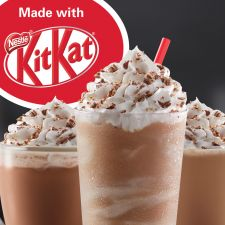Tim Hortons Just Launched an Entire Menu of Kit Kat-Flavored Drinks Chocolate Wafers, Chocolate Recipes, Rosemary Roasted Chicken, Perfect Roast Chicken, Diner Restaurant, Tim Hortons, Blended Coffee, Allrecipes, Cooking Tips