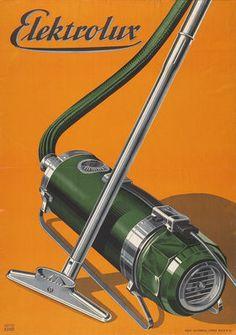 """""""By Köpp, 1 9 3 5, Elektrolux."""" ( Vintage Vacuum Cleaner / Retro Appliance )"""