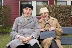 Meneer en mevrouw de Bok.Ofterwijl Andre van Duin en Corry van Gorp. Het onafscheidelijke slapstick duo uit de 70ties/80ties