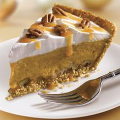 Turtle Pumpkin Pie use gf graham cracker crumbs
