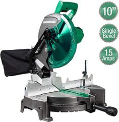 Metabo HPT (was Hitachi Power Tools) Single Bevel Compound Miter Saw at Lowe's. The Metabo HPT 15 Amp 10 In. compound miter saw is ideal for trim carpenters, framers, and woodworkers who demand precision, reliability and Table Saw Workbench, Table Saw Jigs, Sliding Compound Miter Saw, Compound Mitre Saw, Hitachi Miter Saw, Delta Table Saw, Ranger, Home Made Table Saw, Table Saw Accessories
