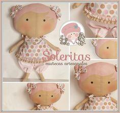 La nueva muñeca Tilda sweetheart una cabezona adorable, ideal para decorar la habitación de los peques. Altura de la muñeca:30cm, un bombón...