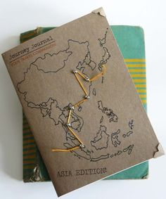 The Journey Journal-Asia Edition. via Etsy.