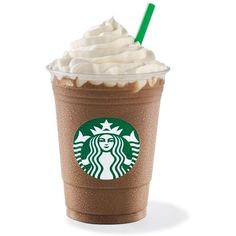 Mocha Frappuccino ❤ liked on Polyvore featuring food, starbucks, food and drink, coffee ve food & drinks