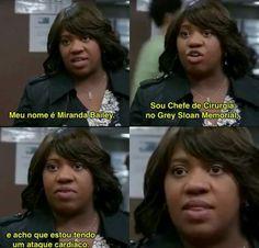 Grey's Anatomy, Miranda Bailey, Kate Walsh, Cristina Yang, Memes, Netflix, Gray, Film Music Books, Greys Anatomy