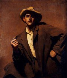 Winner: Archibald Prize 1934 Henry Aloysius Hanke Title : Self Portrait Medium : oil on canvas on board