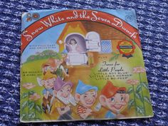 Snow White and the Seven Dwarfs Childrens Standard Play Cricket Record