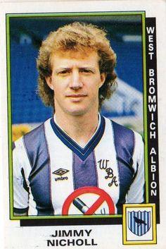 Jimmy Nicholl - West Bromwich Albion