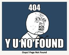 Quickmeme.com: | The 28 Best Error Pages On The Internet