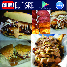 LUNES 6PM a 1AM  - WESTCHESTER 9760 SW 8th St, 33174   Parqueo CVS  - N. MIAMI BEACH 600 NE 167th St, 33162  #ChimiTigre #DominicanFood