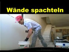 Wände spachteln - Wir zeigen wies geht! (Innenwände) Anleitung zum Wand ...