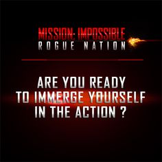 TCL | Mission Impossible: Rogue Nation